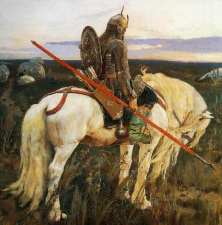 Garet Mellan - A Falcon Knight - Page 2 KnightAtTheCrossroads-vasnetsov